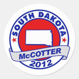 South Dakota Thad McCotter Sticker