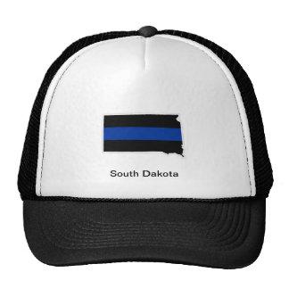 South Dakota Thin Blue Line Trucker Hat