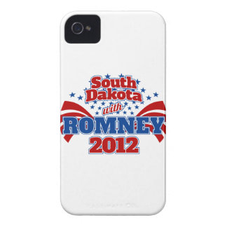 South Dakota with Romney 2012 iPhone 4 Cover
