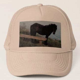 South Devon Dartmoor Pony Near Bench.3. Trucker Hat