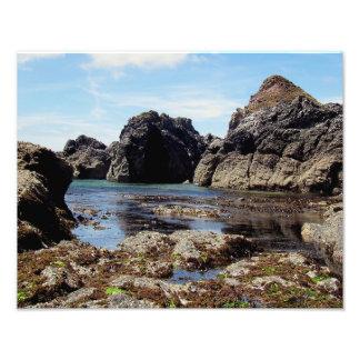 South Devon East Prawle To Gara Rock Photo Print