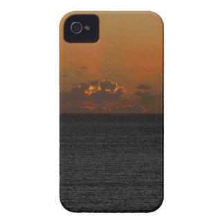 South Devon Gara Rock November Sunset iPhone 4 Case-Mate Case