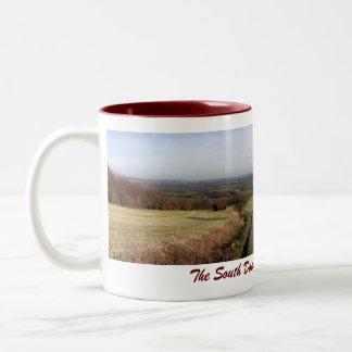 South Downs Way mug