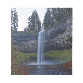 South Falls at Silver Falls State Park Oregon Notepad