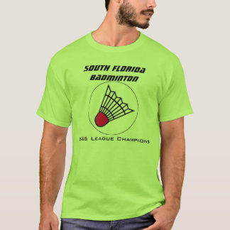 South Florida Badminton T-shirt