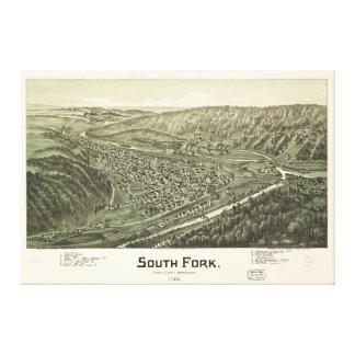 South Fork, Cambria County, Pennsylvania (1900) Canvas Print