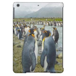 South Georgia. Saint Andrews. King penguin 6 iPad Air Covers