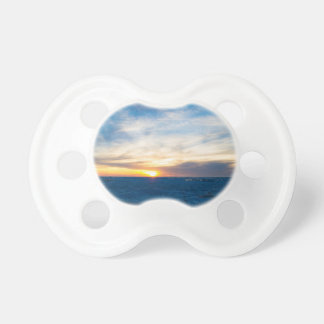 South Haven Lighthouse Frozen Lake Michigan Baby Pacifier