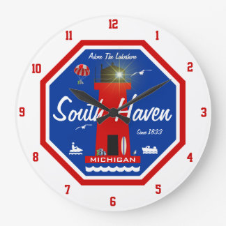 South Haven Lighthouse Wall Clocks
