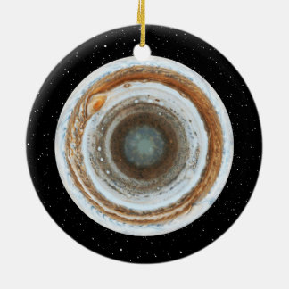 South Jupiter Round Ceramic Decoration