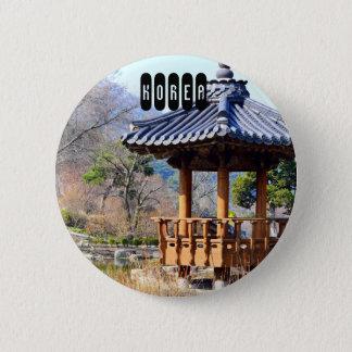 South Korea 6 Cm Round Badge