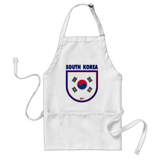 South Korea Aprons