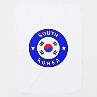 South Korea Baby Blanket