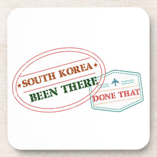 South Korea Been There Done That Coaster