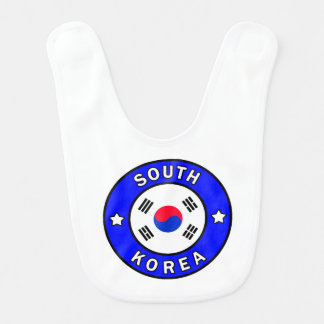 South Korea Bib