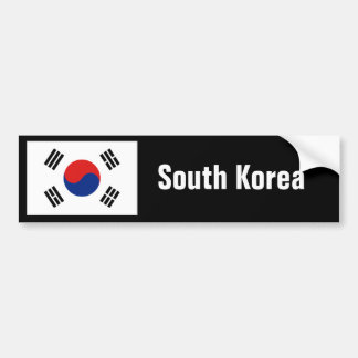 South Korea bumper Bumper Sticker