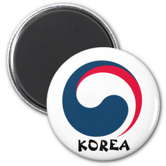 South Korea Crest Magnet