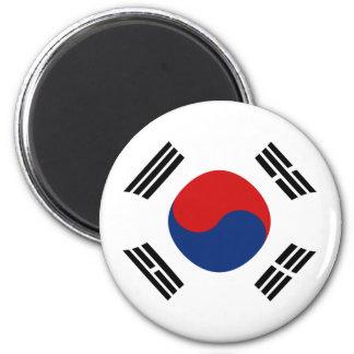 South Korea Fisheye Flag Magnet