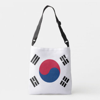 South Korea Flag Crossbody Bag