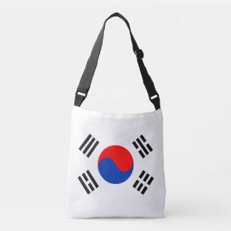 South Korea Flag Crossbody Bag