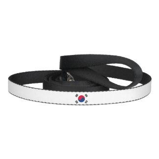 South Korea Flag Dog Leash