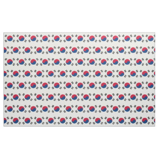 South Korea Flag Fabric