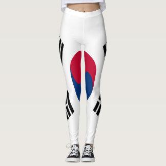 South Korea Flag full Leggings