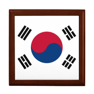 South Korea Flag Gift Box