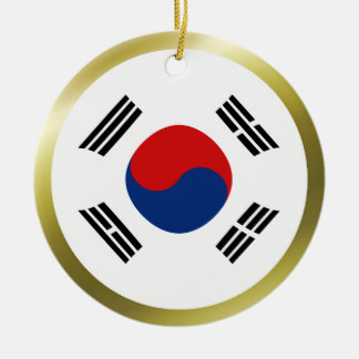 South Korea Flag Ornament