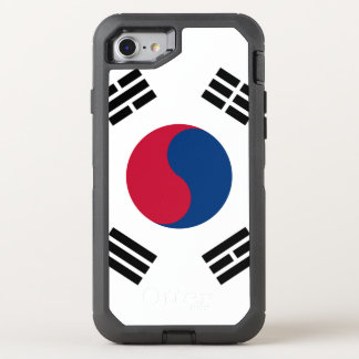 South Korea flag OtterBox Defender iPhone 8/7 Case