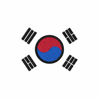 South Korea Flag Polo Shirt