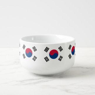 South Korea flag Soup Mug