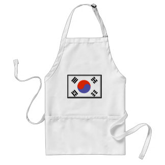 South Korea Flag Standard Apron