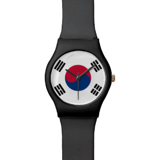 South Korea Flag Watch