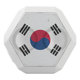South Korea flag White Bluetooth Speaker