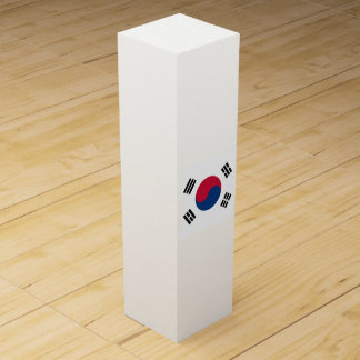 South Korea Flag Wine Gift Box