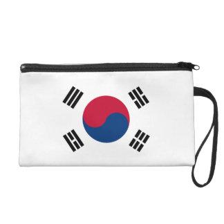 South Korea Flag Wristlet Clutches