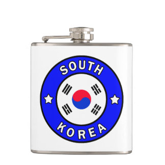 South Korea Hip Flask
