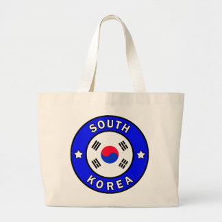South Korea Large Tote Bag
