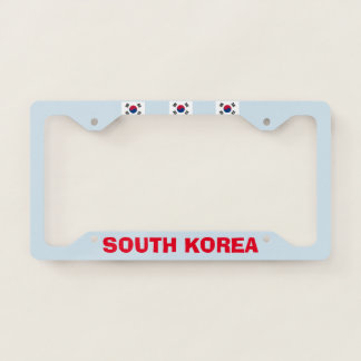South Korea License Plate Frame