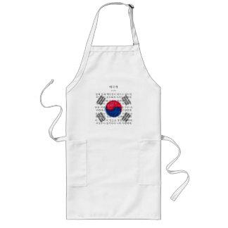 South Korea Long Apron
