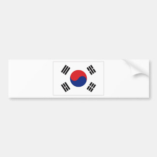 South Korea National Flag Bumper Sticker