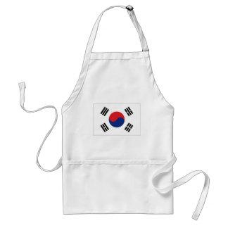South Korea National Flag Standard Apron
