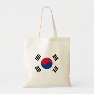 South Korea National World Flag Tote Bag