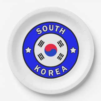 South Korea Paper Plate