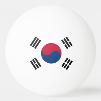 South Korea Ping Pong Ball