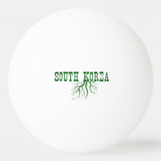 South Korea Roots Ping Pong Ball