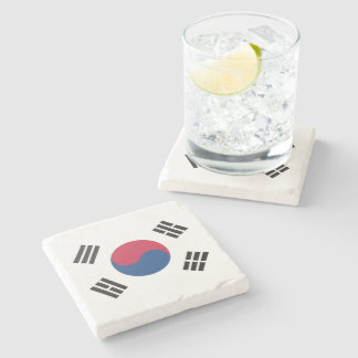 South Korea Stone Coaster