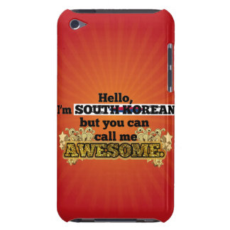 South Korean, but call me Awesome iPod Touch Covers