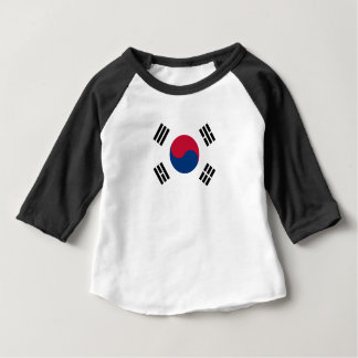 South Korean Flag Baby T-Shirt